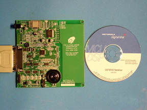 Motorola 56F8300 Development Board
